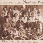Exponatul lunii, la Muzeu. Fotografia Delegației Ineului la Alba Iulia