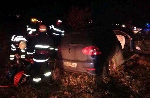 Trei răniți într-un accident pe DN 7 Arad – Pecica