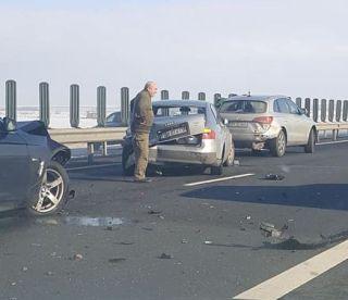 Patru răniți într-un accident produs pe A1, în apropiere de Nădlac