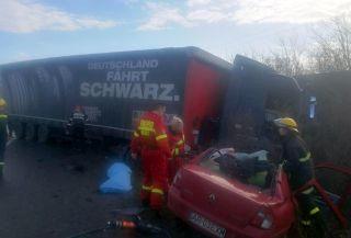 Accident pe un drum din județul Arad. Un bărbat a murit