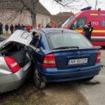 Accident la Sântana. Șapte persoane au fost rănite