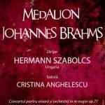 Medalion Johannes Brahms, la Filarmonica de Stat Arad