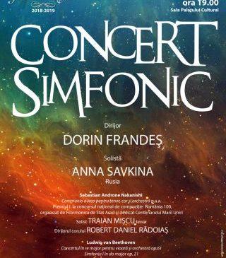 Concert simfonic la Filarmonica de Stat Arad