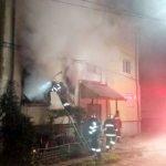 Explozie într-un bloc din Vladimirescu, provocată de un bărbat