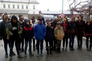 41 de migranți, depistați la frontiera româno-maghiară