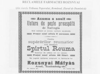 Cum se făcea publicitate în Arad în sec. XIX – XX