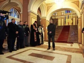 Ceremonie dedicată Unirii Principatelor Române, la Arad