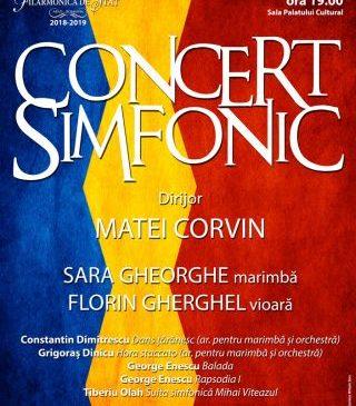 Concert dedicat Unirii Mici, la Filarmonica de Stat Arad