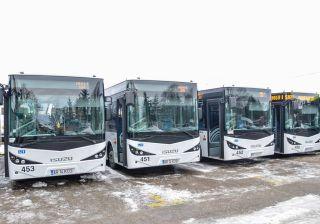 Primăria Arad a cumpărat opt autobuze noi și second hand