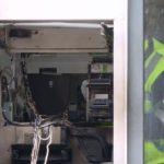 UPDATE Două persoane reţinute pentru distrugerea prin explozie a unui bancomat din Alfa