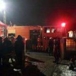 Incendii la Șofronea și Zăbrani. O mașină și anexa unei gospodării, distruse de foc