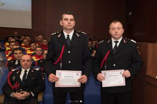 Dan Onaca – pompierul anului, Cătălin Câlb – salvatorul anului