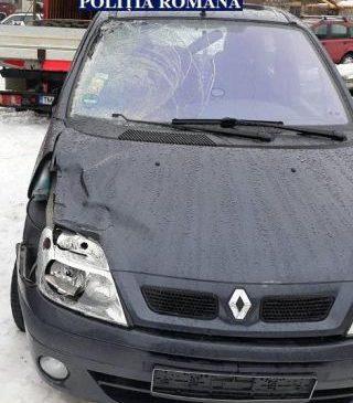 Şoferul care a accidentat mortal un tânăr la Cuvin a fost găsit, după 24 de ore, băut la volan