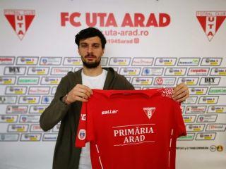 Cristian Melinte revine la UTA Arad