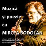 Muzică și poezie cu Mircea Bodolan, la Biblioteca Județeană