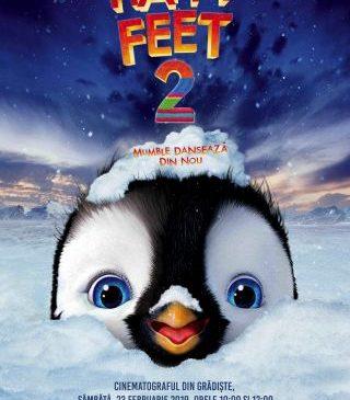 """Animația """"Happy Feet2. Mumble dansează din nou"""", la cinematograful din Grădiște"""