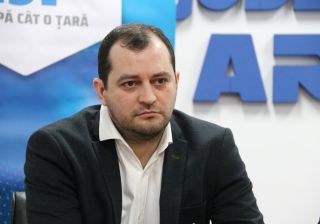 Răzvan Cadar, ales vicepreședinte al Consiliului Județean Arad