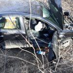 UPDATE Accident la Nădab. Un bărbat a murit, alți doi au fost răniți