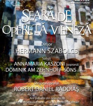 Seară de muzică vieneză la Filarmonica de Stat Arad