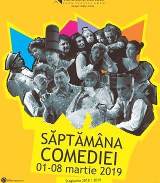 """Săptămâna comediei la Teatrul Clasic """"Ioan Slavici"""". PROGRAM"""