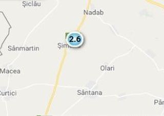 Cutremur cu magnitudinea 2,6 în județul Arad