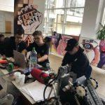 Un robot construit de câţiva elevi arădeni, în competiţia First Tech Challenge Romania