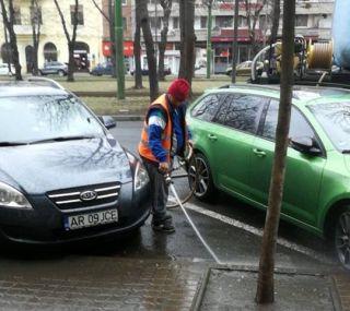 """Primăria Arad anunță:  A început acţiunea """"Străzi curate"""""""