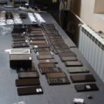 Telefoane mobile, în valoare de peste 50.000 lei, confiscate de jandarmii arădeni
