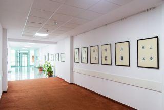 Expoziție dedicată scriitorului Ioan Slavici, în holul Consiliului Județean Arad