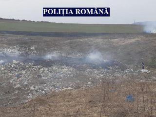Bărbat reținut de polițiștii din Lipova pentru incendiere