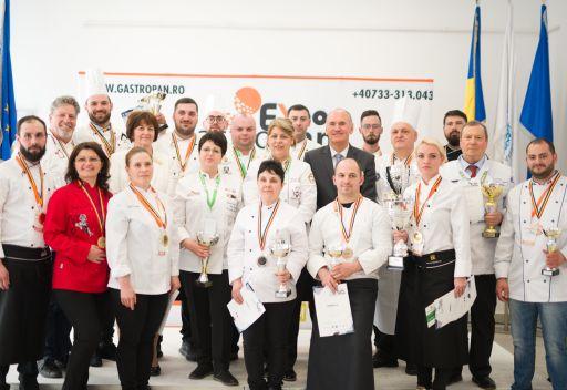 Artă culinară la Concursurile GastroPan 2019