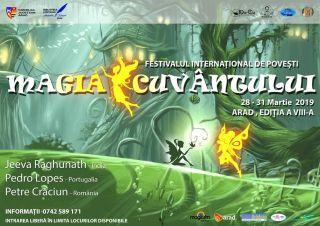 """Festivalul Internațional de povești """"Magia Cuvântului"""", la Arad"""