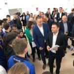 Ministrul Dezvoltării a predat municipalităţii noul bazin de polo