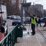 Curăţenie în staţiile de tramvai. Cetățenii sunt avertizați să o păstreze
