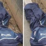 Uniforme de poliţişti, găsite abandonate în Arad