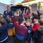 Ziua Poliției Române. Sute de copii la I.P.J. Arad