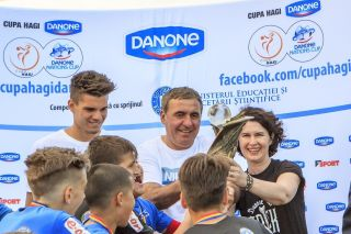 Cupa Hagi Danone, la Arad. VEZI programul meciurilor