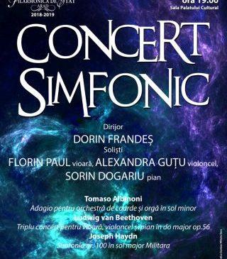 Concert-maestrul Orchestrei Radio din Hambrug, pe scena Filarmonicii de Stat Arad