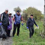 Peste 400 de voluntari au făcut curățenie la Pecica şi în satele aparţinătoare