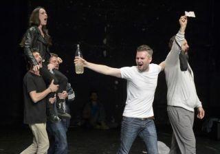 "Actorii arădeni vor juca spectacolul ""Exit"" la Bruxelles"