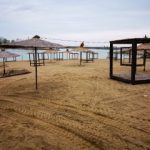 Plaja lacului Ghioroc se va deschide pentru turiști de Paști
