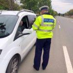 Poliția în trafic. O tânără a condus cu peste 100 km/h pe Bd. Nicolae Titulescu