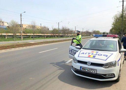 Acțiune rutieră, în Arad. Peste 100 de șoferi au fost amendați în două ore
