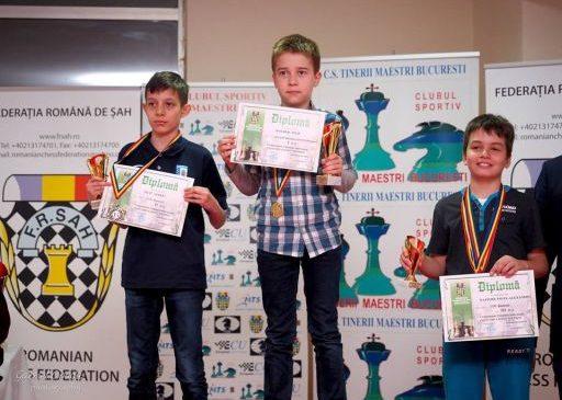 Două titluri de campioni naționali pentru șahiștii de la Vados