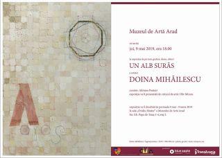 """Expozitie-eveniment la Muzeul de Arta Arad: """"Un alb surâs"""""""