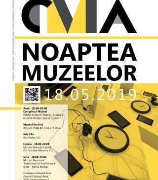 Noaptea muzeelor la Arad, Lipova și Șiria. PROGRAM