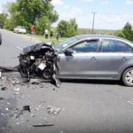 Accident pe DN 79. Patru persoane, transportate la spital