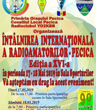 Întâlnirea Internațională a Radioamatorilor, ediția a XVI-a, la Pecica