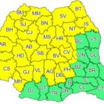 Avertizare meteo. Cod galben de instabilitate atmosferică pentru județul Arad