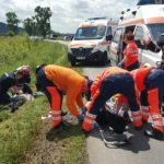 UPDATE Accidente în Arad. Doi bicicliști au murit, iar un șofer a fost preluat de elicopterul SMURD